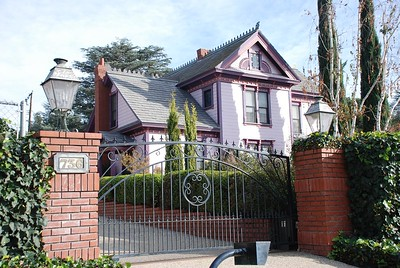 Purple House - Sierra Madre