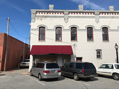 Red Awning building-Barnesville, Ga.