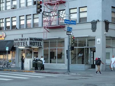 Crime Scene - Baltimore Hotel - Downtown LA