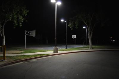 PLACERITA CANYON MIDDLE SCHOOL - NIGHT SHOTS