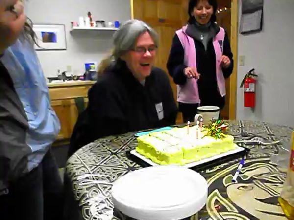 Janelle's birthday cake