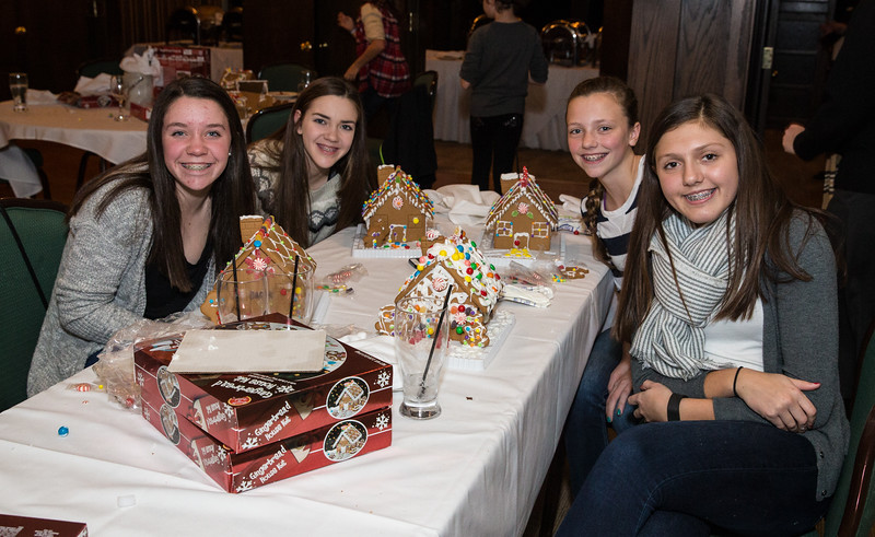 Short Hills Gingerbread Houses