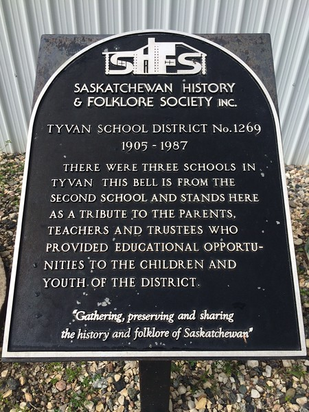 Tyvan School District No.1269