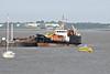 2008 to DATE - SD WATERMAN - Water Tanker - 290GRT/300DWT - 37.8 x 7.9 - 1978 R Dunston & Co., Hessle, No.914 - Denton Moorings, moored up, 07/07/13 - ex-RN water tanker WATERMAN.