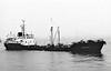 1972 to 1983 - BURNLEY - Tanker - 967GRT/1177DWT - 66.0 x 9.5 - 1957 Rolandwerft, Bremen, No.863 as ADRIAN M (1957-70) - HERO (1970-72) - 08/83 broken up at Manchester.