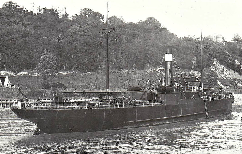 1914 to 1940 - CATO - Cargo - 710GRT - 70.4 x 9.4 - 1914 Campbeltown Shipbuilders, No.99 - 03/03/40 sunk by mine laid by U29 10nm west of Barry, Dublin for Bristol with general cargo.