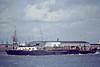 1978 to 1984 - BOWBELLE - Suction Dredger - 1486GRT/1850DWT - 79.9 x 13.6 - 1964 Ailsa Shipbuilding, Troon, No.517 - 1992 BILLO, 1996 BOM REI - 25/03/96 broke in two, sank off Ponto do Sol, Madeira - Northfleet, outward bound, 04/82.