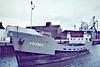 1974 to 1990 - HELENA C - Cargo - 388GRT/459DWT - 47.9 x 7.7 - 1962 Scheeps Hijlkema, Martenshoek, No.2/79 as ALI (1962-74) - 1990 MELINDA D - 14/04/90 sank south of the Bahamas - Wisbech, sailing after unloading soya meal at Tradax, 10/81.