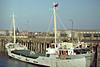 1978 to 1982 - BRENDA C - Cargo - 400GRT/526DWT - 48.8 x 8.0 - 1962 Scheeps Gebr Coops, Hoogezand, No.229 as LENIE (1962-78) - 1982 ISOLDA, 1983 SEA HUSKY - 01/89 broken up in the Rainham - Wisbech, to unload soya meal, 03/82.