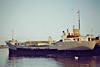 1978 to 1986 - BETTY C - Cargo - 499GRT/825DWT - 60.4 x 9.1 - 1961 Schiffs Hugo Peters, Wewelsfleth, No.514 as ANNE CATHARINA (1961-69) - KNUD (1969-75), NORDGARD (1975-78) - 1986 NORTH SOUND II, 1992 VIVIETTE (COL) - still trading - Wisbech, outward bound in ballast, 12/84.