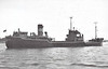 1949 to 1959 - POOLE ISLAND - Cargo - 1366GRT/1700DWT - 71.7 x 11.0 - 1949 Pickersgill Shipbuilders, Southwick, No.314 - 1959 HYDRACRETE, 1963 rebuilt as sand carrier and renamed BANKSTONE - 12/76 broken up at Grays.
