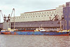 1951 to 1976 - BLACKWALL POINT - Cargo - 1776GRT/2710DWT - 82.4 x 12.0 - 1951 SP Austin & Son, Wear Dock, No.408 - 1976 BLACKWELL POINT - 11/94 broken up at Bruges - seen here as BLACKWELL POINT.