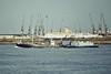 1960 to 1991 - CHARMO - Tanker - 477GRT/522DWT - 50.3 x 10.2 - 1960 Charrington, Gardner & Locket, Dartford, No.148 - 1991 FULFORD (GBR) - still trading - Northfleet, inward bound, 12/81.