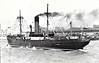 Belfast SS Co. - 1949 to 1955 - ULSTER DUCHESS - Cargo - 1014GRT - 70.3 x 10.7 - 1924 Tyne Iron Shipbuilding Co., Willington Quay, No.228 as SENTRY (1924-39) - MEDWAY COAST (1939-49) - 09/55 broken up at Port Glasgow.