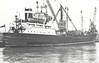 Belfast SS Co. - 1955 to 1963 - ULSTER PIONEER - Cargo - 1016GRT - 75.3 x 11.4 - 1955 George Brown & Co., Greenock, No.261 - 1963 TALISKER, 1970 BAT SNAPIR, 1973 WOODBINE, 1975 HONG SHEN - 07/11/88 sank 40nm southwest of Kota Kinabalu, Port Keland for Kota Kinabalu with tyres and steel.