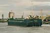 2006 to 2009 - FULMAR - Cargo - 794GRT/1377DWT - 58.3 x 9.5 - 1989 Yorkshire Drydock Co., Hull, No.316 as HOO FINCH (1989-06) - 2009 ARIADNE, 2011 FINCH, 2012 ADAM (COM) - Boston, swinging, inward bound to load grain on a river berth, 15/08/07.