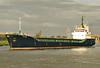 2006 to 2009 - FALCON - Cargo - 13821GRT/2225DWT - 77.8 x 11.1 - 1991 Yorkshire Drydock Co., Hull, No.325 as HOO FALCON (1991-2006) - 2009 sold to Armac Shipping, London - Boston, having swung, inward bound to load grain on a river berth, 15/07/07.