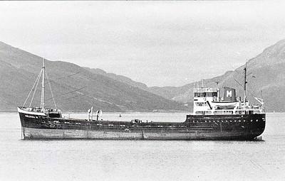 1956 to 1977 - MELISSA M - Cargo - 1089GRT/1560DWT - 70.1 x 10.3 - 1956 Scheeps Westerbroek, No.150 - 1977 PANORMITIS, 1984 MARIOS M - 28/04/85 sank off Anamur, Turkey, Rhodes for Lebanon.