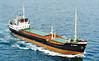 1961 to 1973 - WESTMINSTERBROOK - Cargo - 1040GRT/1406DWT - 66.1 x 10.3 - 1961 Scheeps Gideon Koster, Groningen, No.243 - 1970 lengthened to 70.5m, 1086GRT/1580DWT - 1973 FAIR JENNIFER, 1987 LIBRA, 1995 OSMAN, 1995 RAGA, 1996 NAWARA - 06/01/99 wrecked in tow off Kissamos, Port Said for Albania  - seen here as FAIR JENNIFER(PAN).