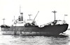 1943 to 1956 - ICELAND - Cargo - 2898GRT/4600DWT - 100.0 x 14.2 - 1943 Caledon Shipbuilding & Engineering Co., Dundee, No.403 - 1956 MOYLE, 1960 WINGROVE, 1961 CANNONBURY, 1962 KYRIAKATSI, 1966 EFSTATHIOS - 17/09/78 damaged in collision with PAVLINA (16177/64) in Piraeus Roads, 1979 broken up at Eleusis.