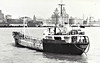 1977 to 1987 - SCAMMONDEN II (Liverpool) - Tanker - 497GRT/813DWT - 56.1 x 9.2 - 1962 Cantieri Pesaro, No.3 as ROSELLA ARA (1962-77) - 1987 STRONGHAND - 29/04/99 wrecked during conflict, off Madangbo, Escravos River, Warri for Apapa with diesel - seen here at Liverpool in 08/79.