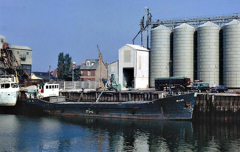 1969 to 1975 - WILKS - Cargo - 199GRT/422DWT - 41.9 x 7.7 - 1969 Clelands Shipbuilders, Wallsend, No.311 - 1975 GLENROSA, 1990 BOSTON BELLE - 1993 broken up.