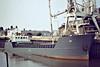1980 to 1988 - LU - Cargo - 497GRT/1140DWT - 45.6 x 9.5 - 1980 Nordsovaerftet, Ringkobing, No.144 - 45.6 x 9.5 - 1988 BOBARA - 06/07 broken up at Aliaga - Wisbech, unloading soya meal at Tradax, 07/81.