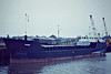 1981 to 1988 - WIGGS - Cargo - 497GRT/1140DWT - 45.6 x 9.5 - 1981 Nordsovaerftet, Ringkobing, No.145 - 1988 DOLI - 02/07 broken up at Aliaga - Wisbech, loading grain, 11/81.