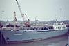 1982 to 1984 - FREETRADE II - Cargo - 393GRT/670DWT - 58.7 x 9.0 - 1957 Scheeps J Pattje, Waterhuizen, No.237 as NASSAUHAVEN (1957-76) - 1976 STRIJPE - 09/84 broken up at Dordrecht - Wisbech, unloading fertiliser, 03/83.
