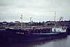 1978 to 1990 - ARGO-G - Cargo - 499GRT/765DWT - 50.3 x 8.9 - 1951 Scheeps Niestern, Delfzijl, No.241 as ARGO (1951-72) - ARGO D (1972-78) - 08/90 broken up at Bruges - Wisbech, loading grain, 06/81.