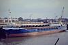 1981 to 2009 - RIVER DART (London) - IMO8012839 - Cargo - GBR/825/81 Nordsovaerftet, Ringkobing, No.148 - 50.0 x 9.3 - 2009 PANORMITIS (GRC) - still trading - Wisbech, unloading fertiliser, 01/83.