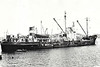 1946 to 1965 - PEREGRINE - Cargo - 872GRT/1051DWT - 64.3 x 10.1 - 1941 AJ Inglis Shipbuilders, Pointhouse, No.1089 as EMPIRE SPINNEY (1941-46) - 1965 LIBYA, 1971 ROZMARY - 1992 deleted from Lloyd's Register, existence in doubt - seen here as LIBYA (GRC).