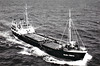 1957 to 1975 - OLNA FIRTH - Cargo - 591GRT/787DWT - 53.8 x 8.8 - 1957 Scheeps Bodewes, Martenshoek, No.426 - 1975 STILIANOS, 1985 SKY (HND) - still trading.