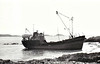 1963 to ???? - RAYLIGHT - Cargo - 177GRT - 29.6 x 6.4 - 1963 Scotts Shipbuilders, Greenock, No.695 - seen here beached at Iona in 1975.
