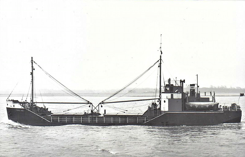 1946 to 1961 - FOSDYKE TRADER - Cargo - 411GRT/400DWT - 45.2 x 8.2 - 1945 Henry Scarr & Co., Hessle, No.458 as EMPIRE FATHOM (1945-46) - 1961 FORT CARILLON, 1972 JANOLYNE, 1975 FERMONT, 1991 MON AMI - 17/11/91 wrecked on Seal Island, 18nm southwest of Cape Sable Island, Quebec for Florida in ballast.