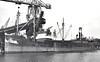 1949 to 1957 - HOLDERNAZE - Cargo - 929GRT - 61.0 x 9.4 - 1925 John Lewis & Co., Aberdeen, No.80 as BALCOMBE (1925-31) - CORUNDUM (1931-49) - 12/57 broken up at Antwerp - seen here at Grimsby.