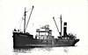 1953 to 1958 - HOLDERNENE - Cargo - 873GRT - 57.9 x 9.2 - 1921 Hansen Shipbuilders, Bideford, No.2 as MONKSTONE (1921-22) - WILD ROSE (1922 -51), SUSSEX ELM (1951-53) - 02/58 broken up in Dublin.