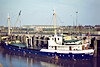 1979 to 1982 - VIOLET MITCHELL - Cargo - 385GRT/473DWT - 48.0 x 8.0 - 1957 Scheeps Vuijk, Capelle, No.738 as ASPERA (1957-79) - 1982 SOJOURNER, 1984 VIOLET MITCHELL - 20/04/86 capsized and sank at Whale Cay, Bahamas, Great Abaco Island for West Palm Beach - Wisbech, 11/81.