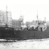 1950 to 1959 - SEAGREEN - Cargo - 518GRT - 45.1 x 8.3 - 1945 Clelands Shipbuilder, Willington Quay, No.76 as EMPIRE SEAGREEN (1945-50) - 1959 ST PIERRE - 09/05/74 wrecked on the Lachine Canal entrance breakwater, Montreal - seen here as EMPIRE SEAGREEN.