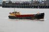 1969 to DATE - MARK PRIOR- Sand Barge - 191GRT/295DWT - 1969 - JJ Prior - outward bound for Fingringhoe to load, 25/02/09.