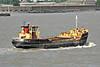 1961 to DATE - BERT PRIOR - Cargo - 180GRT/250DWT - 32.9 x 7.7 - 1961 Scheeps van Duivendijk, Lekkerekerk, No.Z76 - Northfleet, outward bound from Brewery Wharf for Fingringhoe, 07/07/03.