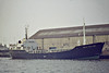 1984 to 1986 - ULLA BALLING (Jersey) - IMO5172585 - Cargo - 252GRT/515DWT - 42.7 x 8.3 - 1961 Svendborg Skibs, No.99 as JOHAN CHRISTENSEN (1961-71) - 1971 converted to Chemical Tanker, renamed ULLA BALLING - 1980 reconverted to Cargo - 1986 SEVEN SEAS TRADER - FALMOUTH BAY - SEA TRADE - 1999 ALEXIA A II (VCT) - Wisbech, backing up the River Nene to unload soya meal, 10/82 - still trading - seen here at Goole, 08/84.