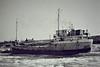 1981 to 1991 - JONSUE - Cargo - 351GBR/433DWT - 47.2 x 7.1 - 1950 Scheeps Terneuzensche, No.46 as CAMPEN (1950-54) - 1954 FAVORIET, 1955 MERWESTAD, 1969 EAGLE 2, 1971 FRETHERNE - Fosdyke, laid up, 02/85 - note frozen river (1985 was a very cold winter) - 1991 sank at Fosdyke, broken up in situ.