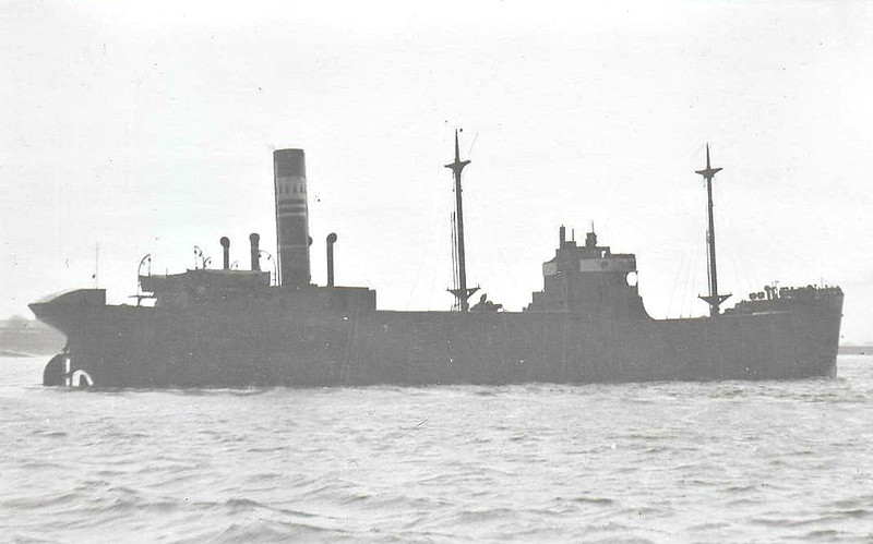 1917 to 1936 - FLAMMA - Cargo - 1874GRT - 82.5 x 11.6 - 1917 Wood Skinner & Co., Bill Quay, No.200 - 1936 VIIU - 11/05/40 sunk by torpedo from U9 off West Hinder Buoy, Antwerp for Miami, 15 dead.