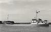 1970 to 1980 - HOOCREST - Cargo - 494GRT/691DWT - 51.4 x 8.4 - 1955 Scheeps Bodewes Volharding, Foxhol, No.134 as IDA D (1955-70) - 1980 ATLANTIC COMET, 1983 HOOCREST - 1984 converted into floating dock.