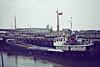 1974 to 1984 - HOOPRIDE (Rochester) - Cargo - 478GRT/580DWT - 49.7 x 7.9 - 1957 Scheeps Gebr Niestern, Delfzijl, No.249 as MARTENSHOEK (1957-70) - BEREND N (1970-74) - 1984 HOOP, 1988 HELEN, 1992 ALEXIS, 1994 CHRISTOPHER 1 - Wisbech, loading grain, 05/81 - 2002 broken up.