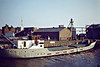 1952 to 1970, 1980 to 1988 - CONTACT - Cargo - 263GRT/315DWT - 41.0 x 7.1 - 1950 Scheeps Worst & Dutmer, Meppel, No.100 as GESINA (1950-52) - HOOTACT (1970-80) - 1985 sold to Caribbean Island Shipping, Willsemstad, name unchanged - 1988 deleted from Lloyd's Regisyer, existence in doubt - Great Yarmouth, to unload soya meal, 05/81.