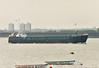 1984 to 2006 - HOO LAUREL - Cargo - 794GRT/1394DWT - 58.3 X 9.5 - 1984 Yorkshire Drydock Co., Hull, No.286 - 2006 LARK, 2010 RIVER LEADER, 2012 RIVER KING (BLZ) - still trading - Gravesend, outward bound, 20/02/08.