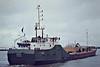 1982 to DATE - RONEZ - Cement Carrier - 837GRT/1117DWT - 64.7 x 10.1 - 1982 Scheeps Van Goor, Monnickendam, No.675 - still trading - Northfleet, outward bound from Bevans Jetty, loaded, 04/82.