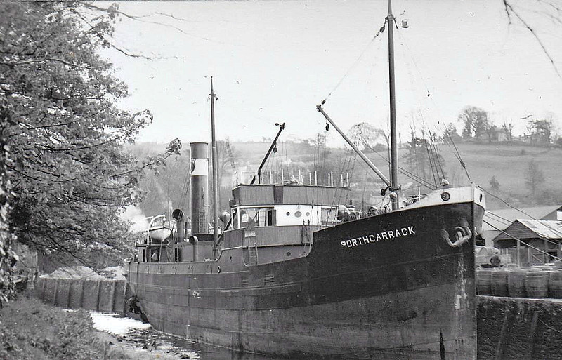 1924 to 1940 - PORTHCARRACK - Cargo - 406GRT - 43.0 x 7.4 - 1924 Kings Lynn Shipbuilders, No.200 - 11/11/40 wrecked west of Barry.